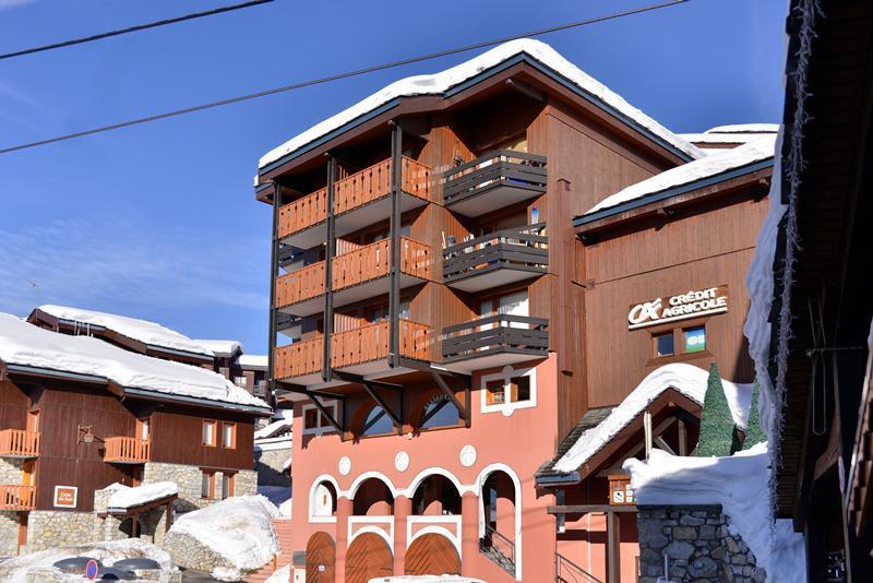 Аренда на лыжном курорте Résidence Comète - La Plagne - зимой под открытым небом