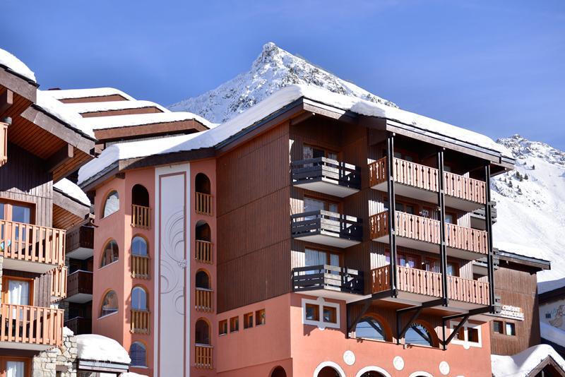 Holiday in mountain resort Résidence Comète - La Plagne - Winter outside