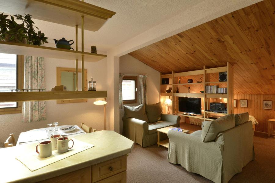 Аренда на лыжном курорте Апартаменты 2 комнат 5 чел. (654) - Résidence Corail - La Plagne - Салон