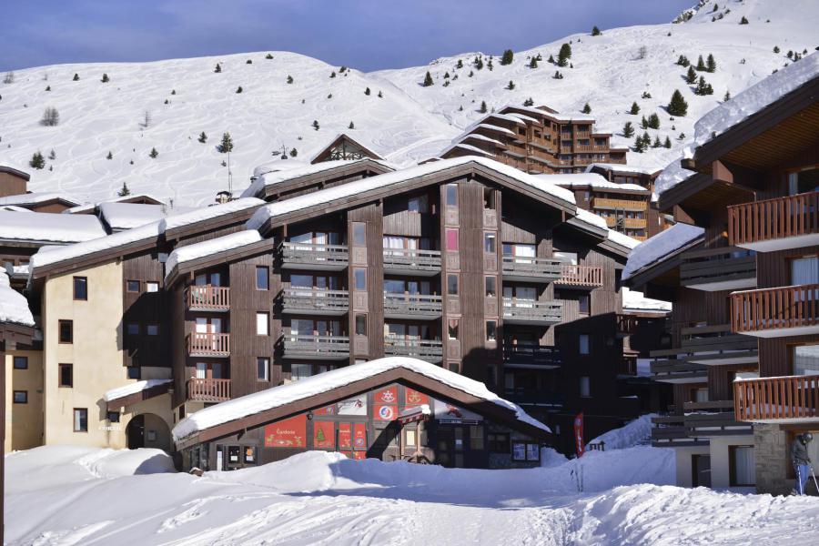 Аренда на лыжном курорте Résidence Corail - La Plagne - зимой под открытым небом