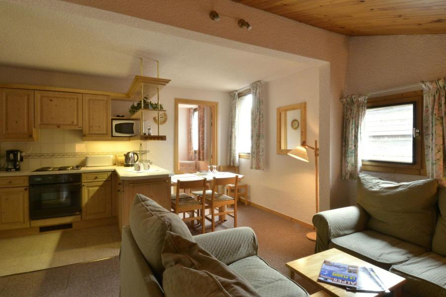 Аренда на лыжном курорте Апартаменты 2 комнат 5 чел. (654) - Résidence Corail - La Plagne