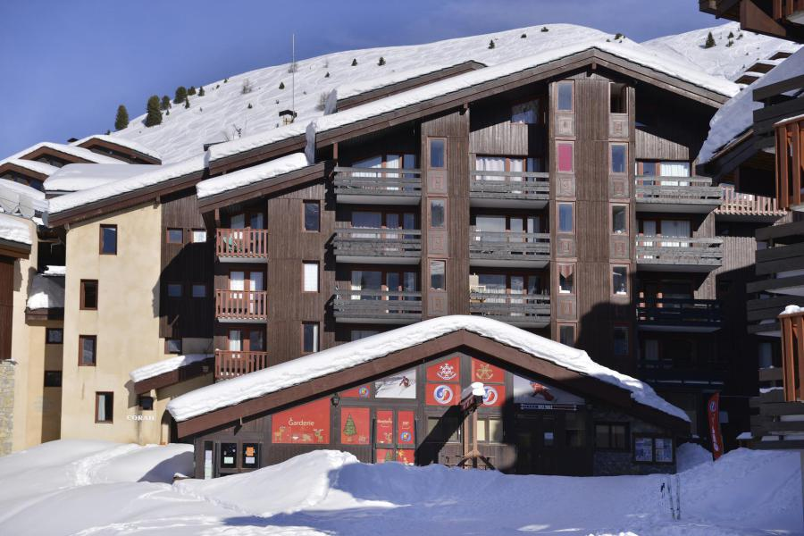 Аренда на лыжном курорте Квартира студия для 4 чел. (457) - Résidence Corail - La Plagne