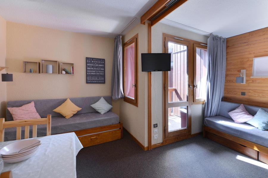 Аренда на лыжном курорте Квартира студия для 4 чел. (457) - Résidence Corail - La Plagne - Небольш&