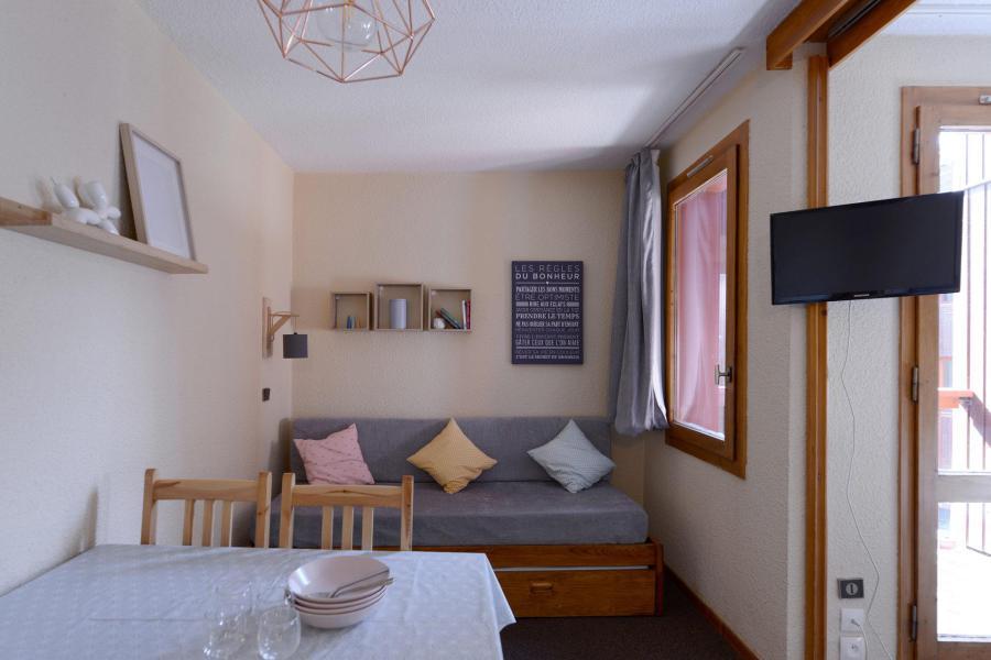 Аренда на лыжном курорте Квартира студия для 4 чел. (457) - Résidence Corail - La Plagne - Салон