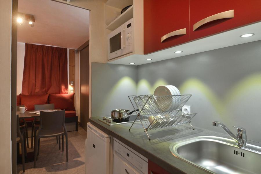 Аренда на лыжном курорте Квартира студия для 4 чел. (1112) - Résidence Croix du Sud - La Plagne