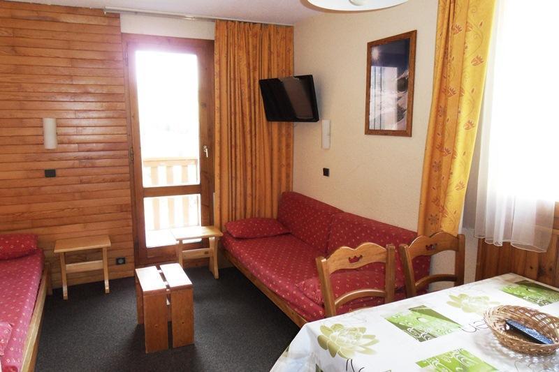 Аренда на лыжном курорте Квартира студия для 4 чел. (1115) - Résidence Croix du Sud - La Plagne - Салон