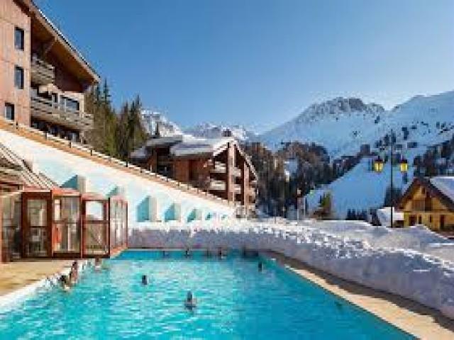 Urlaub in den Bergen Résidence Digitale - La Plagne - Draußen im Winter