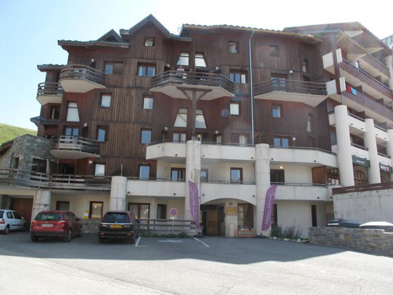 Holiday in mountain resort Résidence Drus - La Plagne - Winter outside