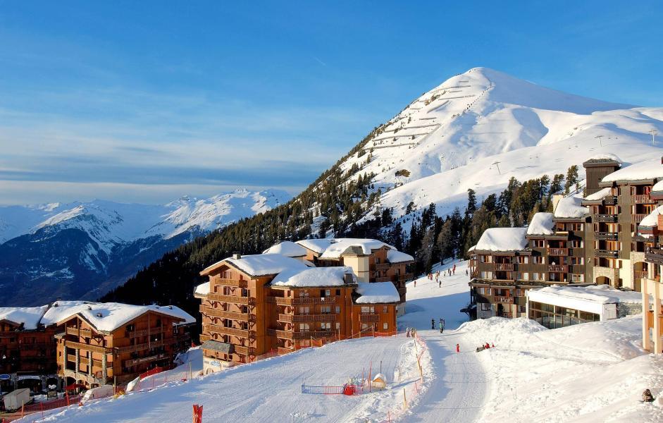 Location au ski Résidence la Licorne - La Plagne - Extérieur hiver