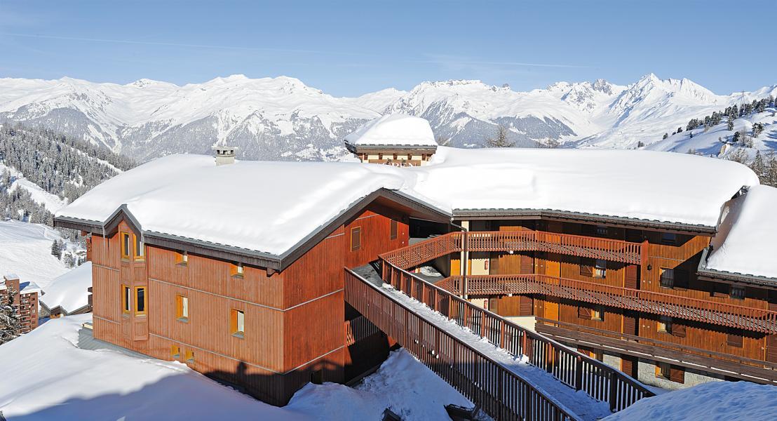 Location au ski Résidence Lagrange Aspen - La Plagne - Extérieur hiver