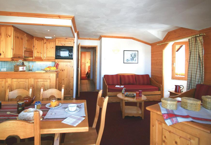 Location au ski Résidence Lagrange Aspen - La Plagne - Table