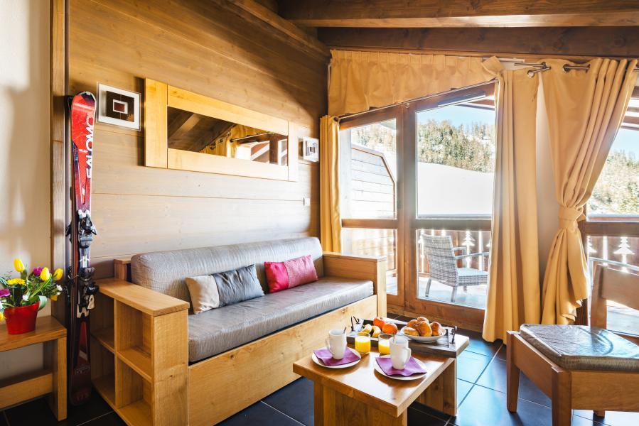 Alquiler al esquí Résidence Lagrange les Chalets d'Edelweiss - La Plagne - Banqueta
