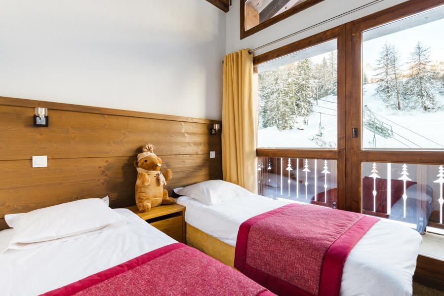 Alquiler al esquí Résidence Lagrange les Chalets d'Edelweiss - La Plagne - Cama individual