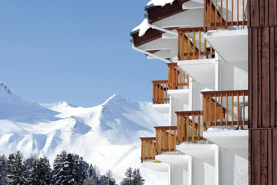 Vacances en montagne Résidence Lagrange Vrt - La Plagne - Extérieur hiver