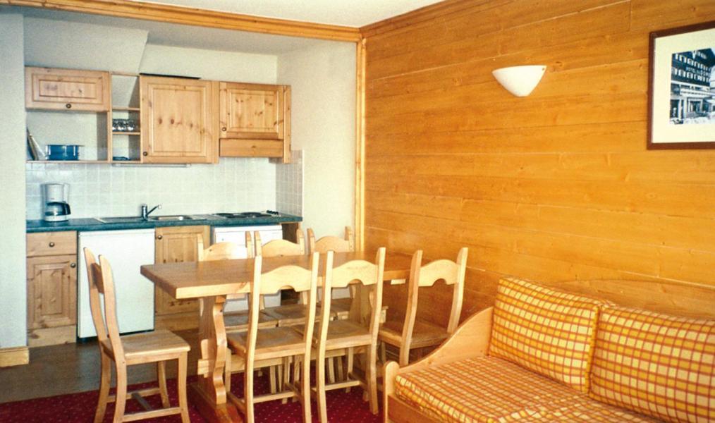 Location au ski Résidence Lagrange Vrt - La Plagne - Coin repas