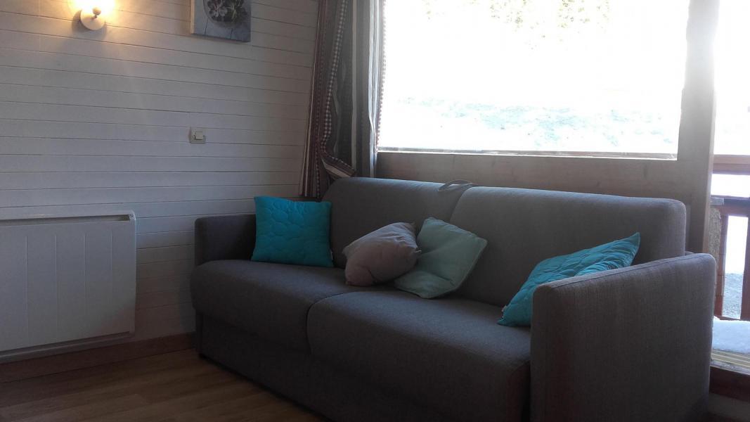 Аренда на лыжном курорте Делящаяся квартира студия для 4 чел. (40) - Résidence le Carroley A - La Plagne - Сиденье банкетка