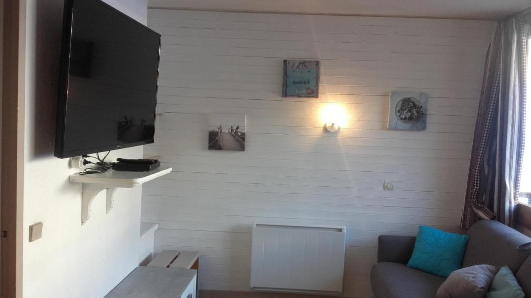 Аренда на лыжном курорте Делящаяся квартира студия для 4 чел. (40) - Résidence le Carroley A - La Plagne - Салон