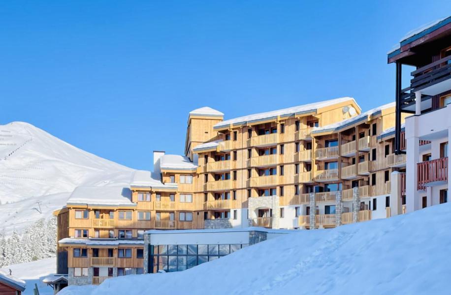 Location au ski Résidence le Centaure - La Plagne - Extérieur hiver