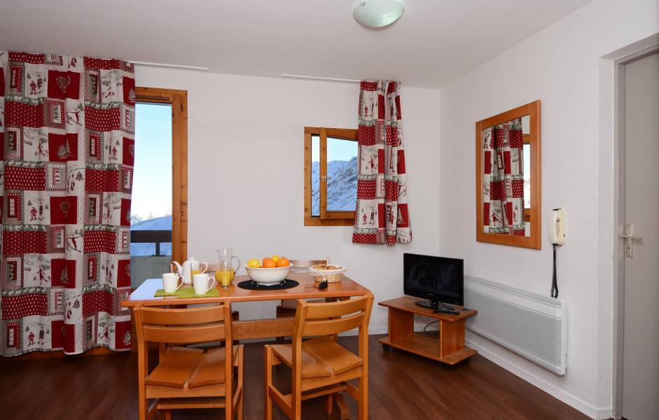 Location au ski Appartement 2 pièces 5 personnes - Résidence le Cervin - La Plagne - Extérieur hiver