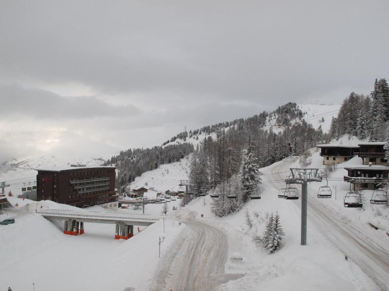 Location au ski Studio 2 personnes (514) - Résidence le France - La Plagne - Extérieur hiver