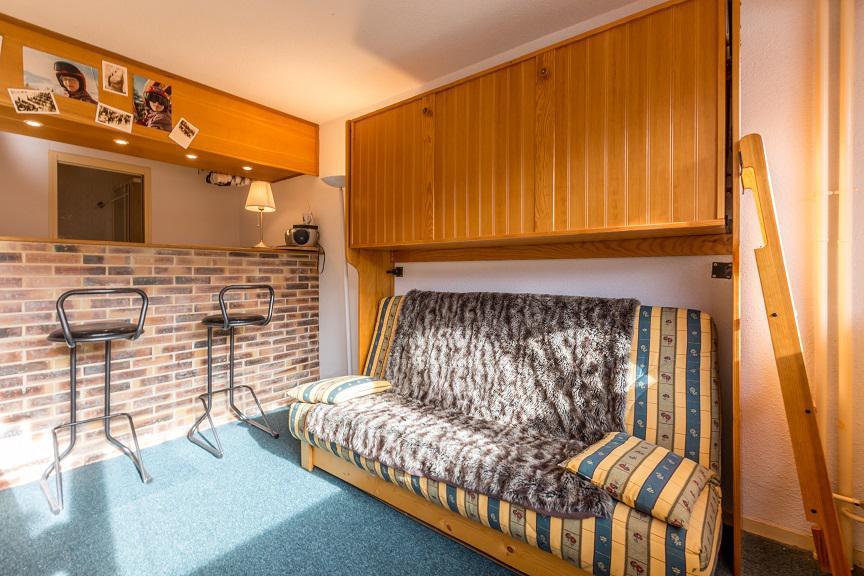 Location au ski Studio 2 personnes (138) - Résidence le France - La Plagne - Banquette-lit