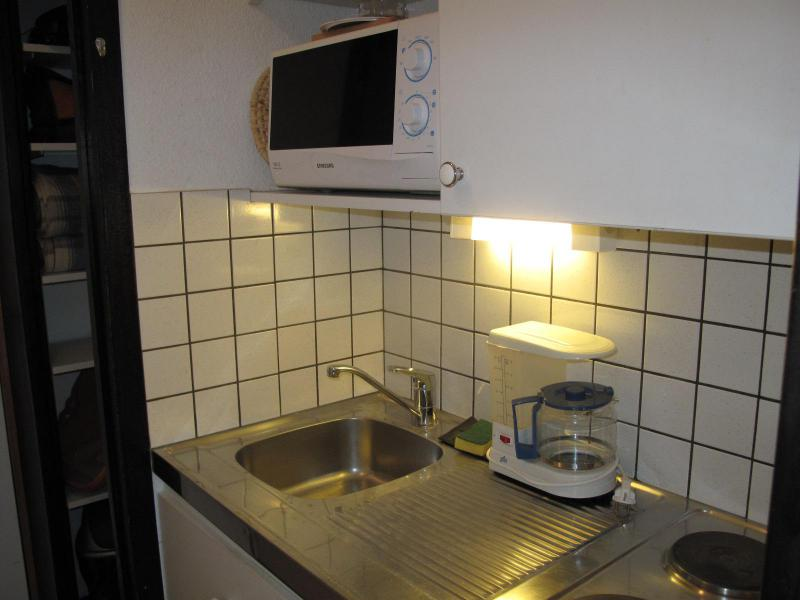 Location au ski Studio 2 personnes (514) - Résidence le France - La Plagne - Kitchenette