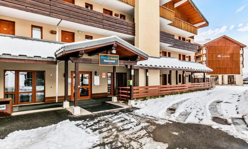 Location au ski Appartement 2 pièces 4 personnes (Confort 35m²) - Résidence le Mont Soleil - Maeva Home - La Plagne - Extérieur hiver