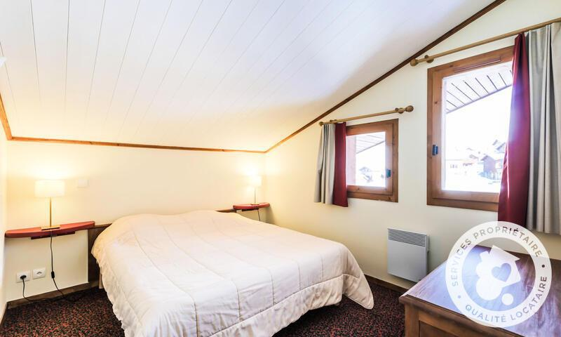 Location au ski Appartement 3 pièces 7 personnes (Sélection 53m²-6) - Résidence le Mont Soleil - Maeva Home - La Plagne - Extérieur hiver