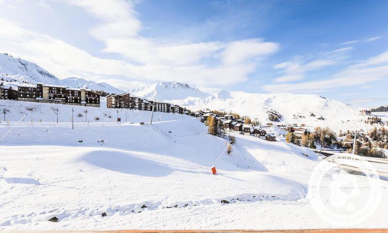 Location au ski Appartement 2 pièces 5 personnes (Confort -3) - Résidence le Mont Soleil - Maeva Home - La Plagne - Extérieur hiver