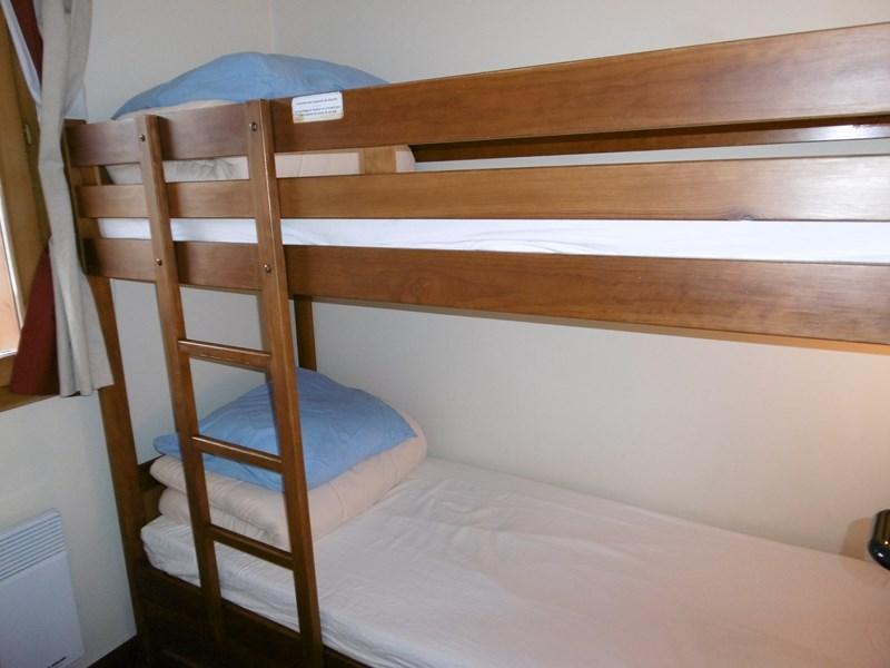 Ski verhuur Appartement 3 kamers 7 personen (101) - Résidence le Montsoleil - La Plagne - Stapelbedden