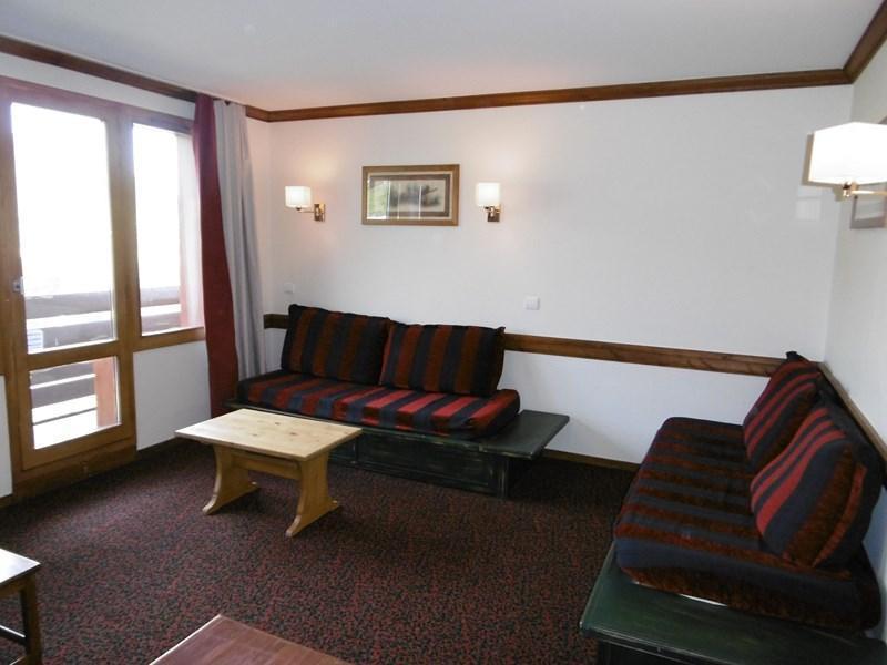 Ski verhuur Appartement 3 kamers 7 personen (101) - Résidence le Montsoleil - La Plagne - Woonkamer
