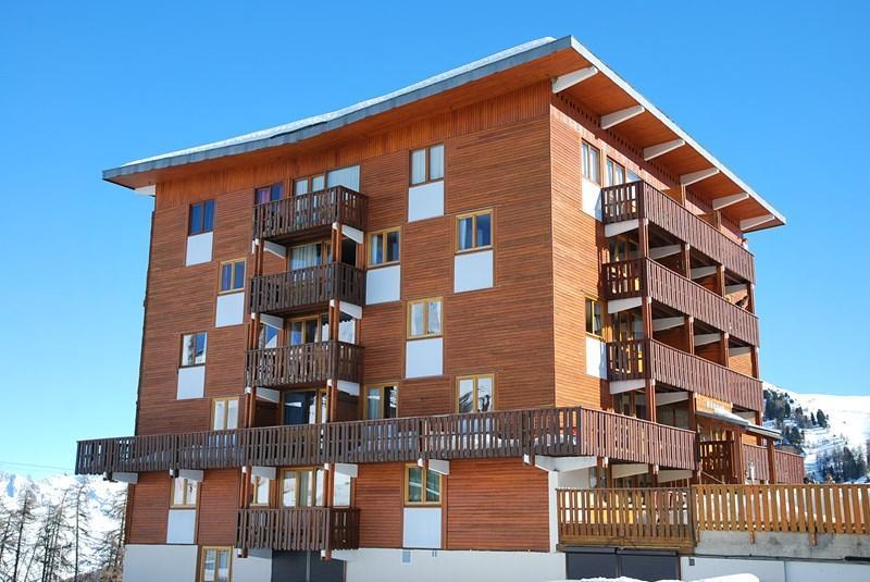 Location au ski Appartement 3 pièces 6 personnes (34) - Résidence le Mustag - La Plagne - Extérieur hiver