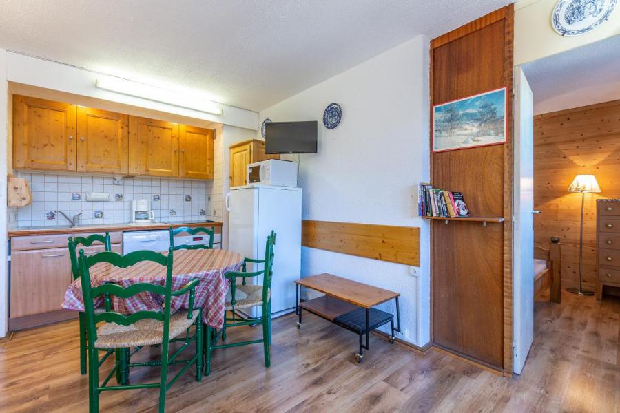 Ski verhuur Appartement 2 kamers 4 personen (21) - Résidence le Mustag - La Plagne - Tafel