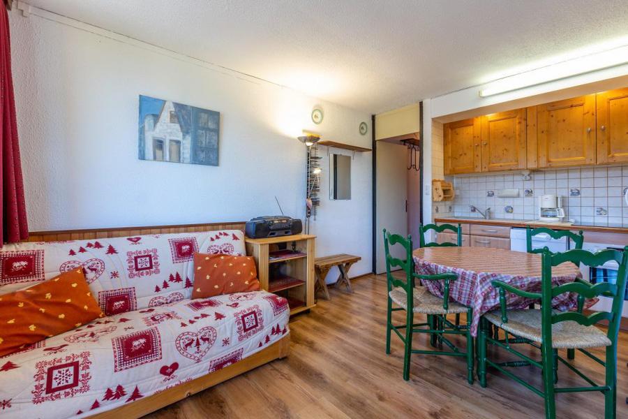 Ski verhuur Appartement 2 kamers 4 personen (21) - Résidence le Mustag - La Plagne - Woonkamer