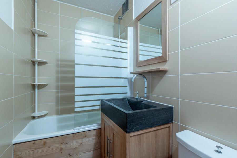 Location au ski Appartement 2 pièces 4 personnes (21) - Résidence le Mustag - La Plagne - Baignoire