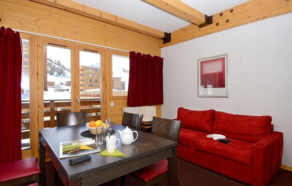 Location au ski Résidence le Pelvoux - La Plagne - Canapé-lit
