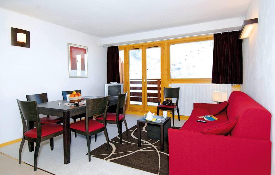 Location au ski Résidence le Pelvoux - La Plagne - Table