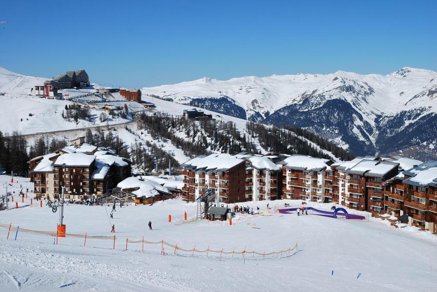 Wakacje w górach Apartament 2 pokojowy 6 osób (31) - Résidence le Perce Neige - La Plagne - Zima na zewnątrz