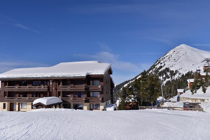 Urlaub in den Bergen Résidence le Quartz - La Plagne - Draußen im Winter
