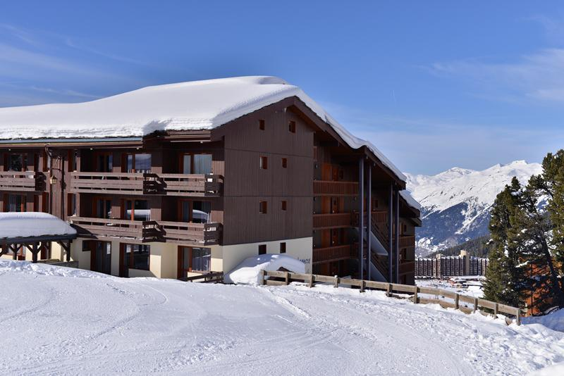Holiday in mountain resort Résidence le Quartz - La Plagne - Winter outside