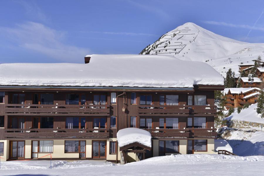 Urlaub in den Bergen Studio für 3 Personen (556) - Résidence le Quartz - La Plagne - Draußen im Winter