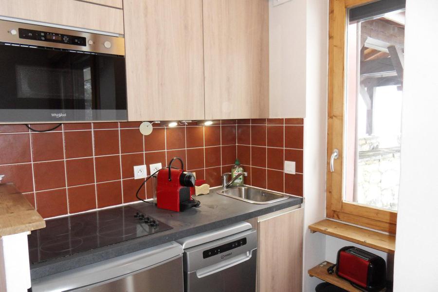 Soggiorno sugli sci Appartamento 2 stanze per 4 persone (438) - Résidence le Quartz - La Plagne - Cucinino