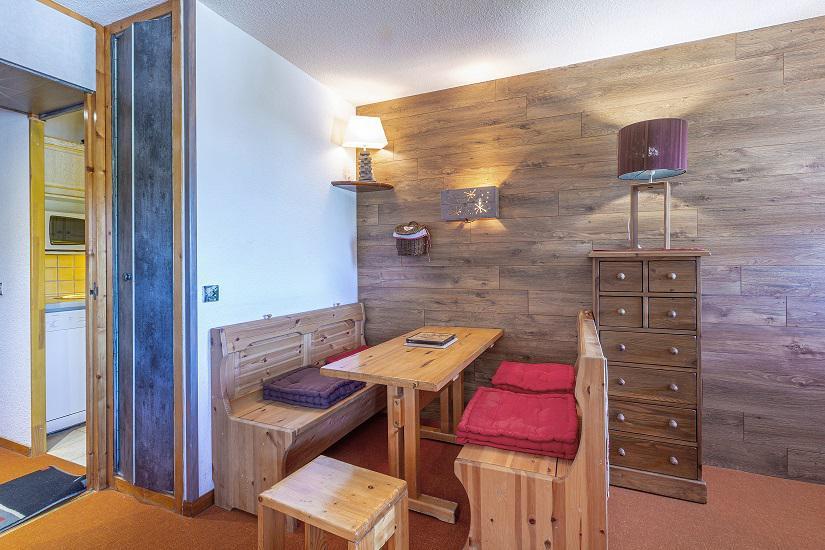 Location au ski Studio 4 personnes (019) - Résidence le Sapporo - La Plagne - Appartement