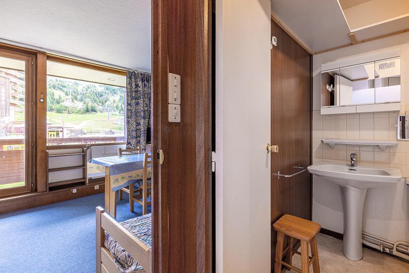 Ski verhuur Studio 4 personen (108) - Résidence le Vercors - La Plagne - Appartementen