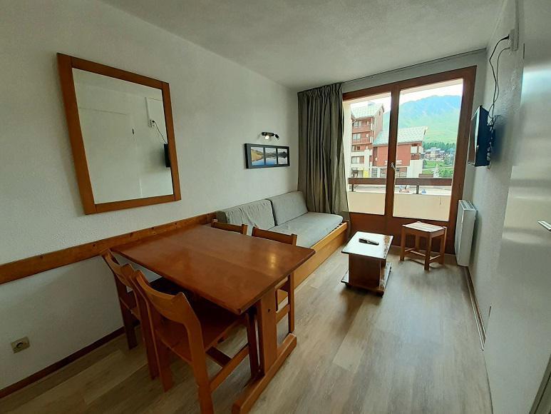 Location au ski Appartement 2 pièces 5 personnes (119) - Résidence les Drus - La Plagne - Séjour