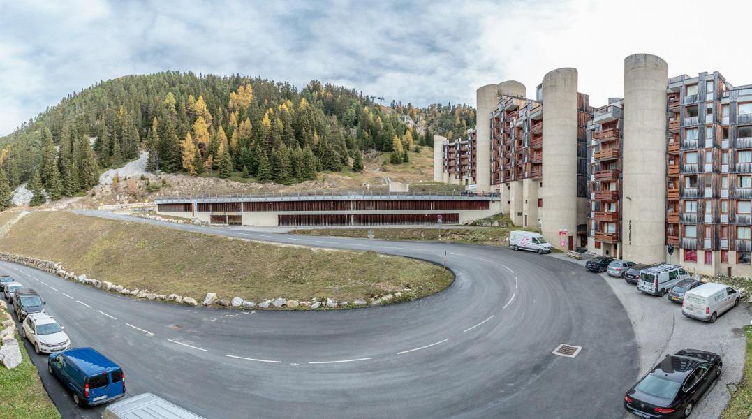 Location au ski Studio 2 personnes (412) - Résidence les Glaciers - La Plagne