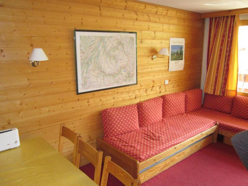 Location au ski Appartement 3 pièces 6 personnes (537) - Résidence les Glaciers - La Plagne - Banquette