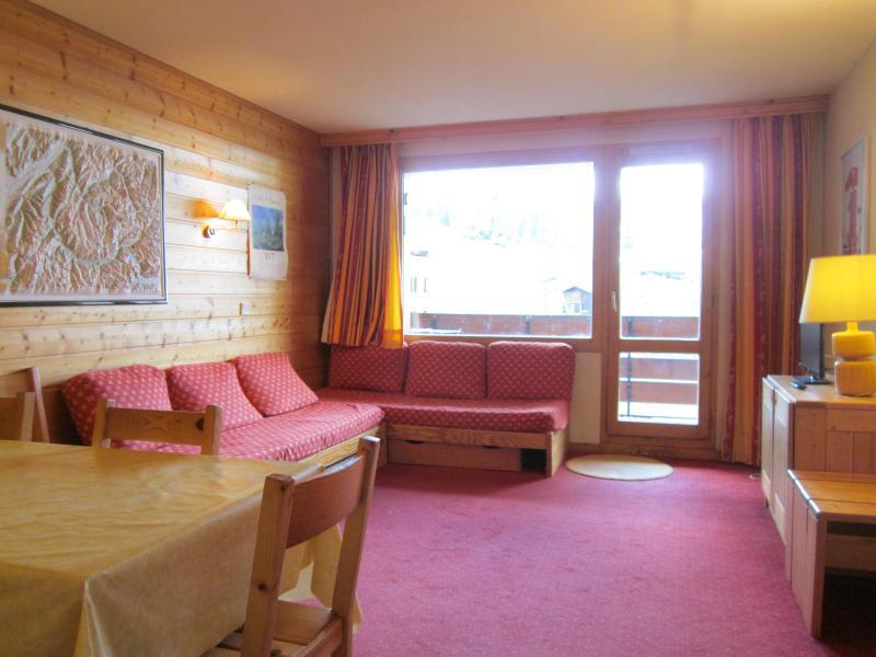 Location au ski Appartement 3 pièces 6 personnes (537) - Résidence les Glaciers - La Plagne - Séjour