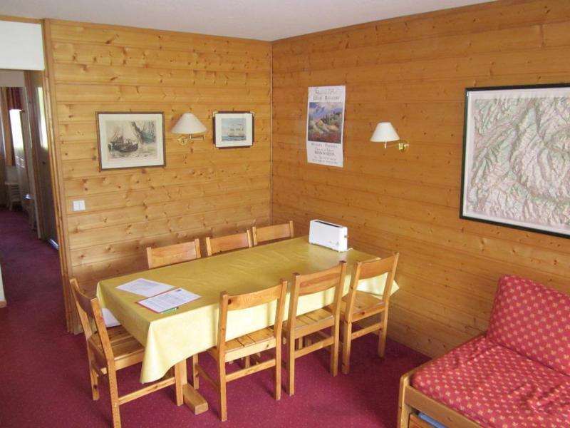 Location au ski Appartement 3 pièces 6 personnes (537) - Résidence les Glaciers - La Plagne - Table