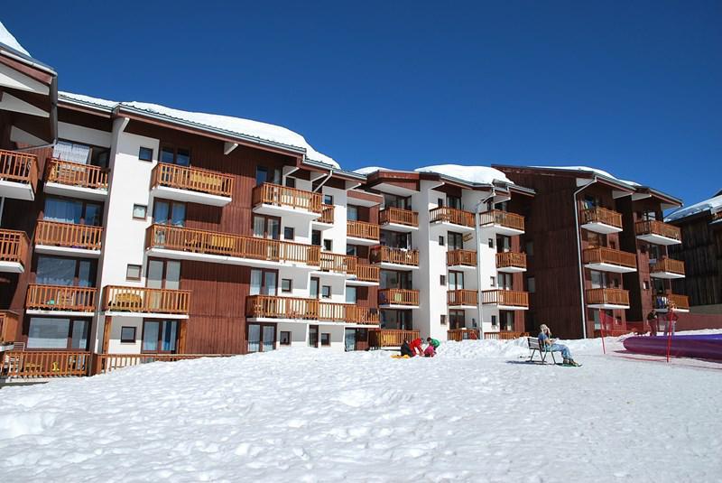 Ski verhuur Studio 3 personen (254) - Résidence les Hameaux I - La Plagne